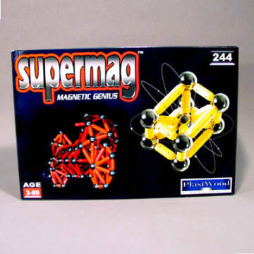 SUPERMAG 244 mágneses építőjáték