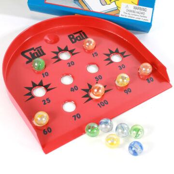 Ügyességi üveggolyó játék  - SKILL BALL
