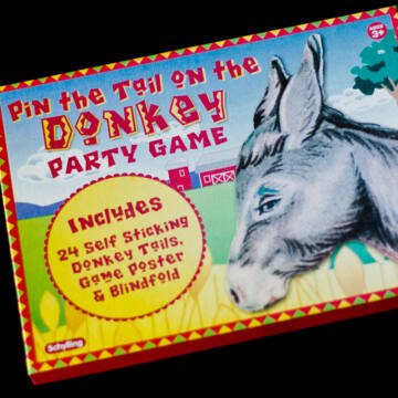 Tail of Donkey - party game