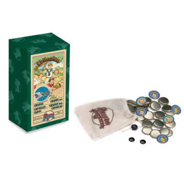 Chapas (caps) spanish folk toy