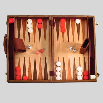 Backgammon - különlegesen nagy méretben