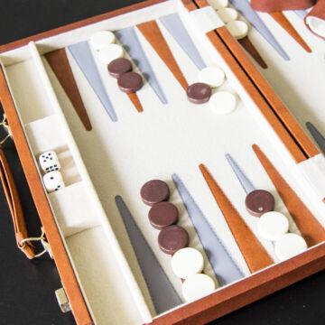 Backgammon  -  börönd  kivitelben