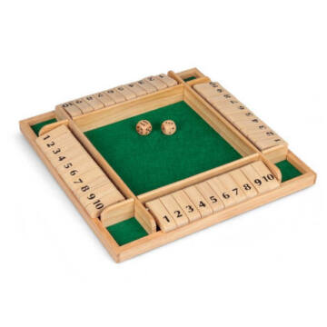 SHUT THE BOX 4 játékossal
