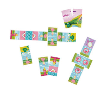 DOMINO PRINCESS card puzzle