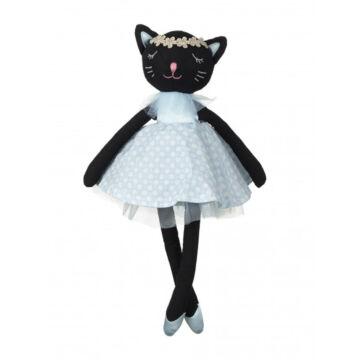 Cili fekete macskalány 32cm