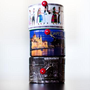 Magyarország szuvenír  tekerős zenedoboz