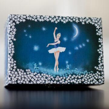 Hattyúk tava - ékszerdoboz balerinával