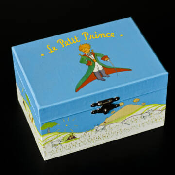 Kis herceg a báránnyal - zenélő kincsesláda,ékszerdoboz