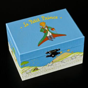 Kis herceg a báránnyal  zenélő kincsesláda,ékszerdoboz