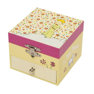 Little Prince with roses musical boxes