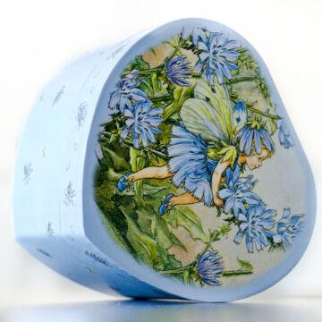Chicory - Heart-shaped jewellery box