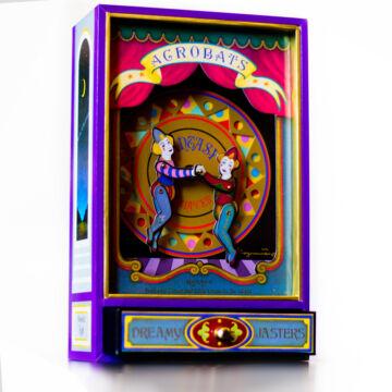 Akrobata bohócok  zenélő ajándéktárgy