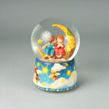 Holdfény szerenád  zenélő hógömb  leértékelt áru