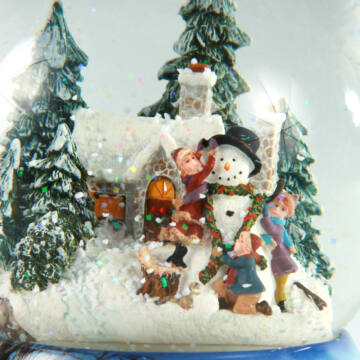 Snowman water globe reduced