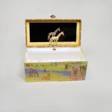 Zsiráf - zenélő ékszerdoboz
