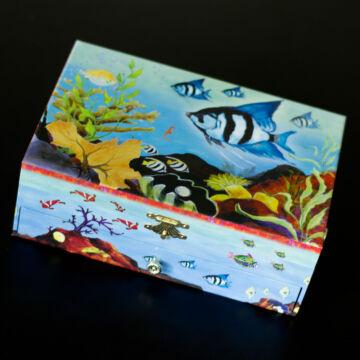 Csikóhal  zenélő ékszerdoboz