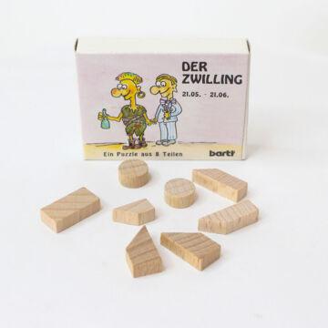 Ikrek  gyufásdoboz játék fából