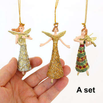 Angel with music instrument 8cm